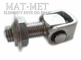 Zawiasy regulowane M16, M20 do bram i furtek