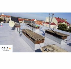 Naprawa dachów płaskich
