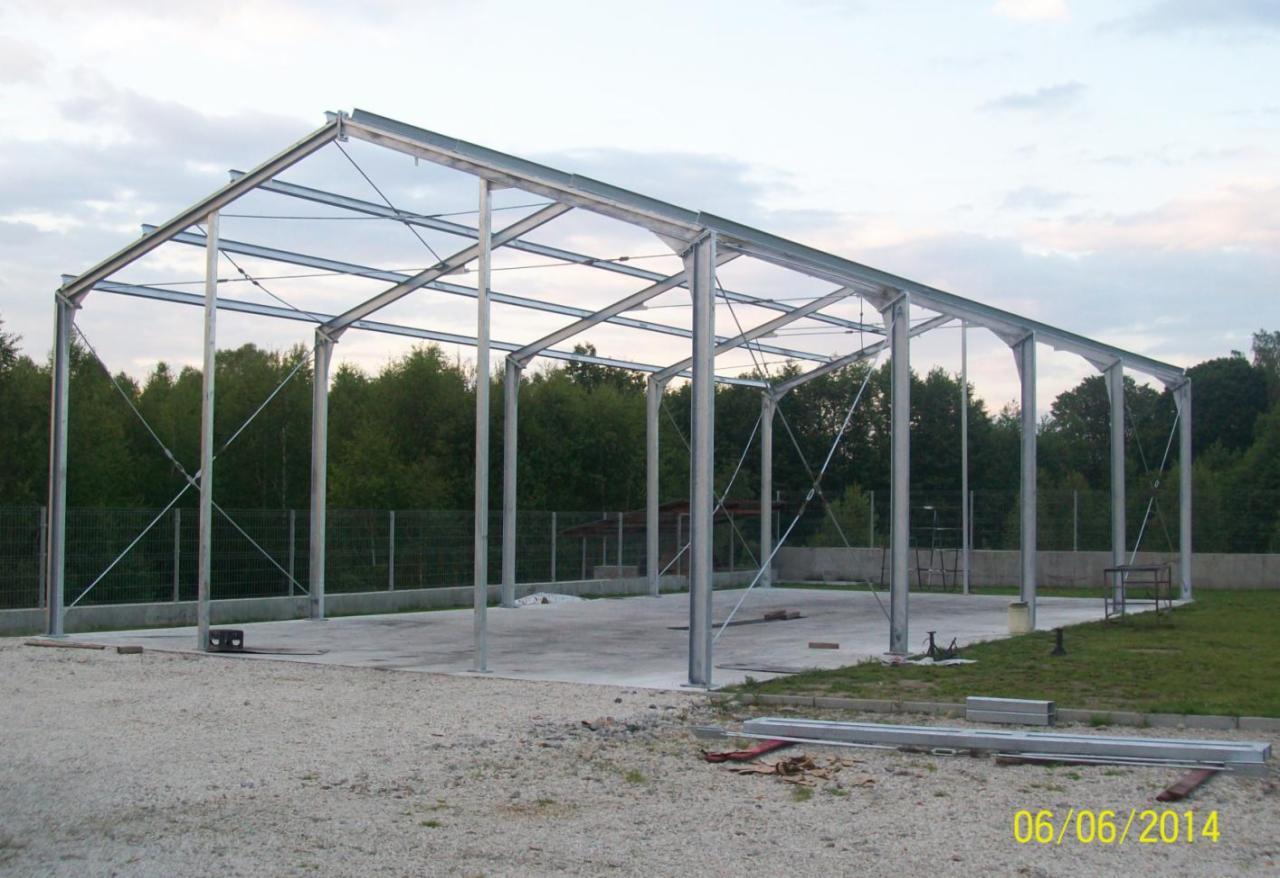 Masywnie Wykonanie hal namiotowych, konstrukcji stalowych - Oferta nr 95853 RG99