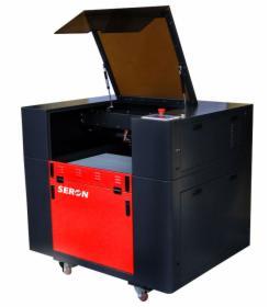 Ploter Laserowy SERON SL 6040, Grawerka, Laser CNC (60x40 cm)