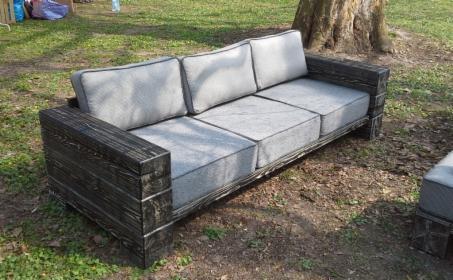 Sofa 3-osobowa Comfort z ekspozycji (WADesign)