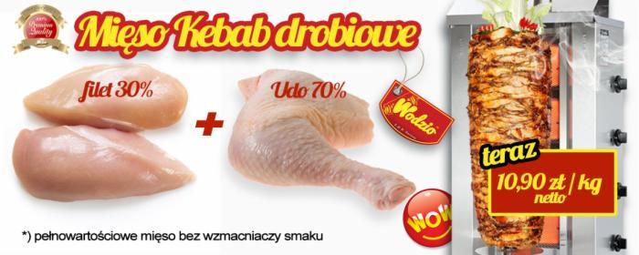 Mięso Kebab drobiowe