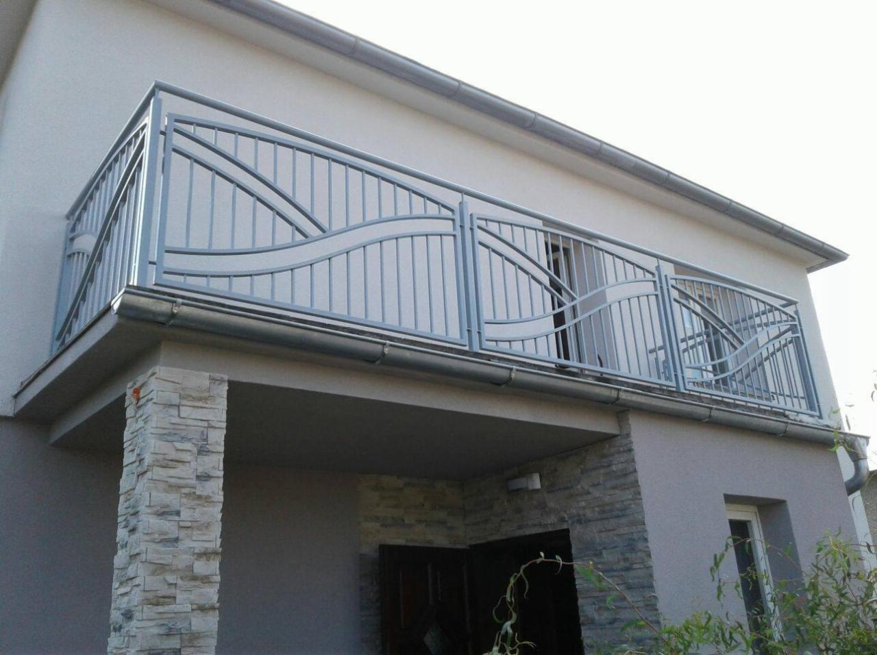 Bardzo dobra Balustrady balkonowe, ocynkowane malowane proszkowo, nowoczesne DA05