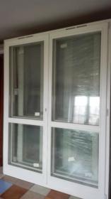 Okno balkonowe drewniane 1770x2310 mm