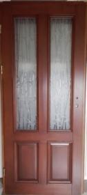 Drzwi drewniane wewnętrzne, kolor: orzech, Prostki, oferta