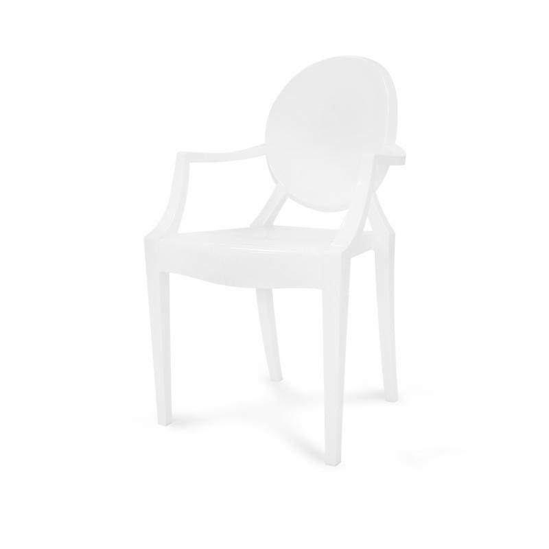 Nowoczesne Przezroczyste Plastikowe Krzesło Oferta