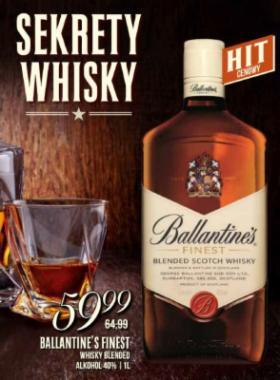 BALLANTINES 1l Finest Whisky