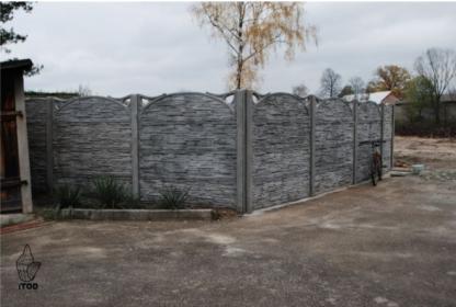 Ogrodzenie betonowe, płot betonowy, przęsło betonowe, oferta