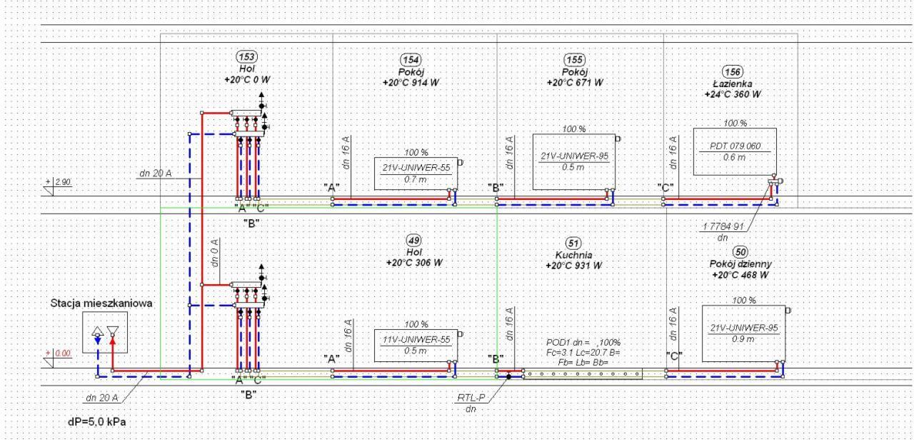 Ekstremalne projekt instalacji centralnego ogrzewania Białystok - Oferta nr  QE-58