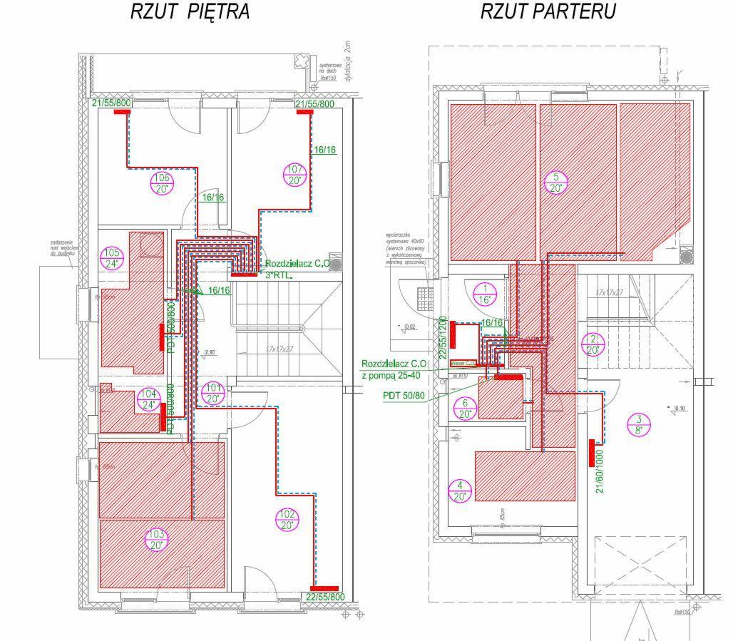Ekstremalne projekt instalacji centralnego ogrzewania Białystok - Oferta nr  #DD-78
