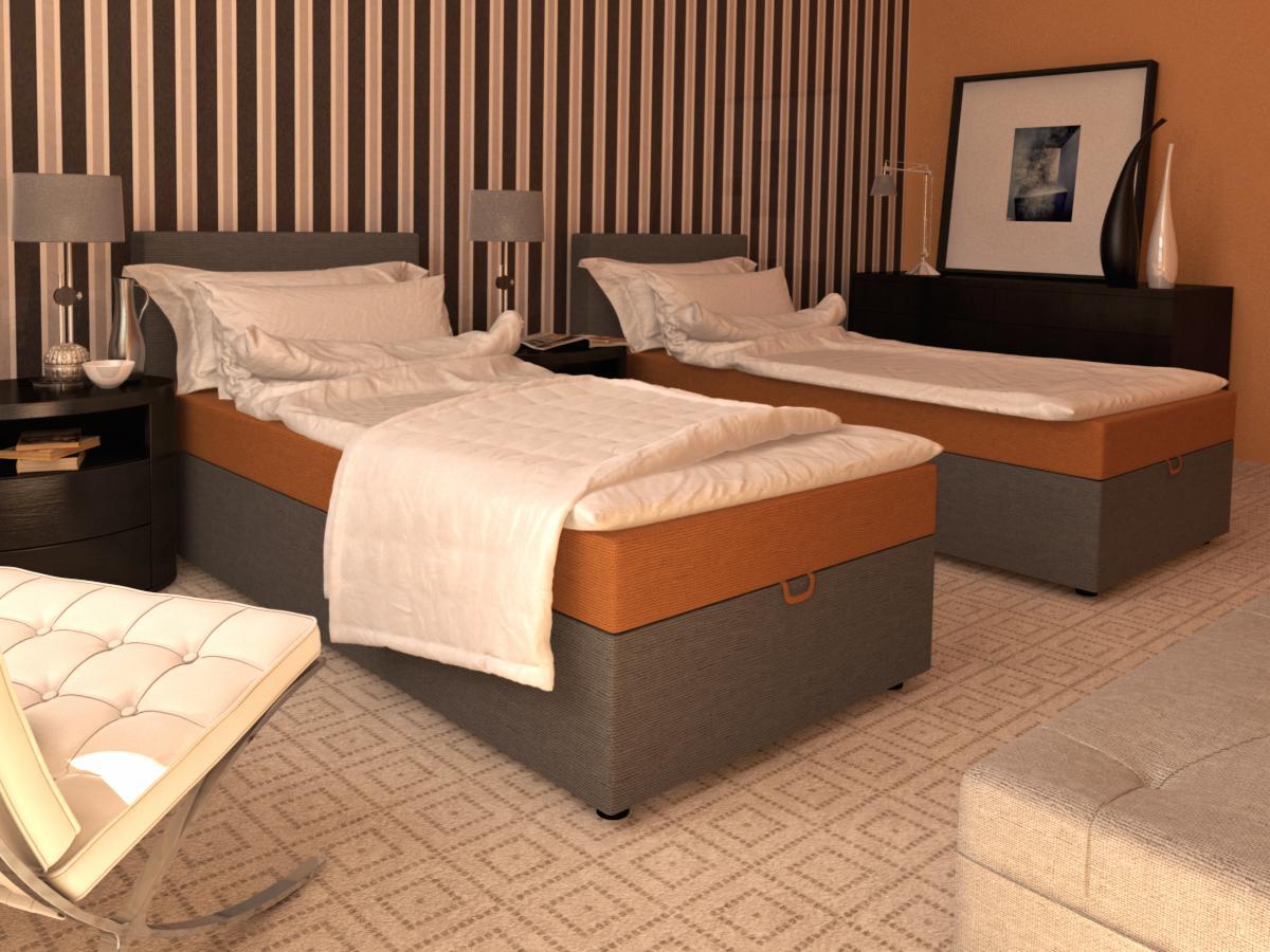 łóżko Westa 90cm X 212cm Z Pojemnikiem Na Pościel łóżko Do