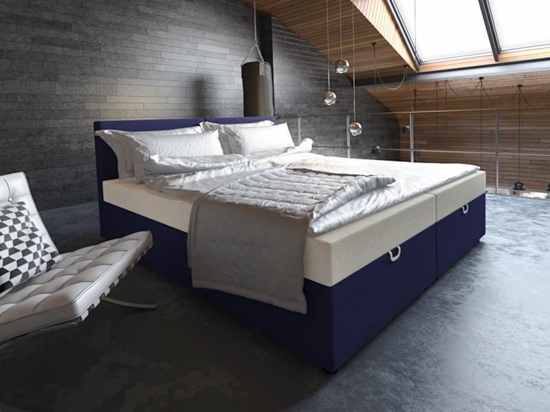 łóżko Sypialniane Westa 180cm X 212cm 2x Pojemnik Na