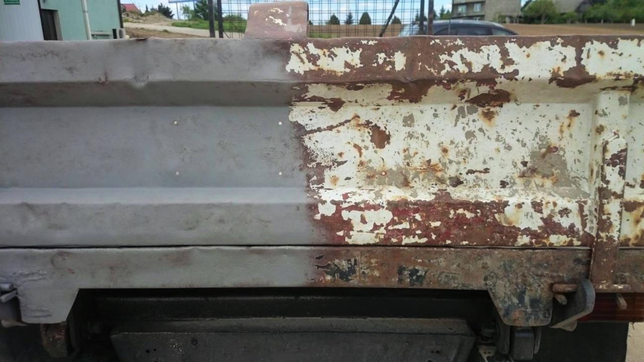 Nietypowy Okaz Piaskowanie mobilne (ramy aut, elementy karoserii, felgi), Biórków OF44