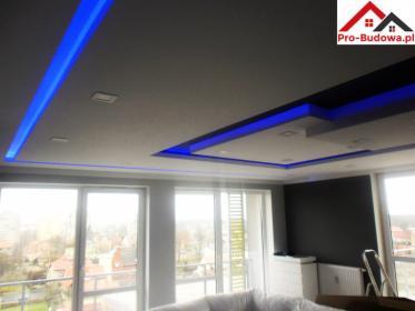Nowoczesne sufity z instalacją LED