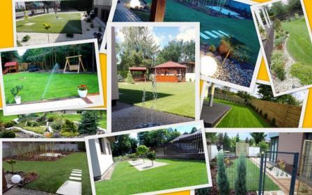 Kompleksowe zakładanie ogrodów, projektowanie, konserwacja, instalacja robotów koszących
