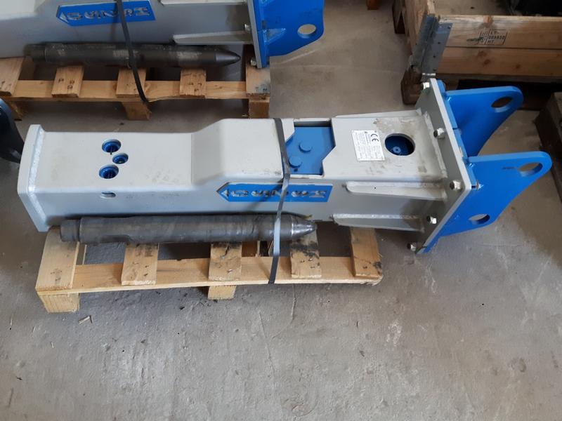 Ogromnie Nowy młot hydrauliczny HAMMER HS250 na koparki 3-4,5t plus grot i VO63
