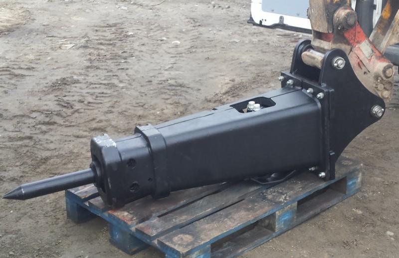 Niesamowite Młot hydrauliczny wyburzeniowy CATERPILLAR CAT H70 na koparki 3-8 LQ85