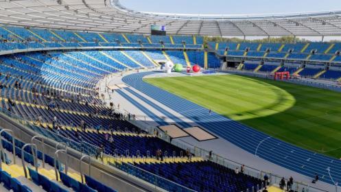 Sprzątanie budowlane Stadion Śląski w Chorzowie