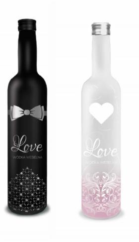 Wódka weslena Love 40% 500 ml