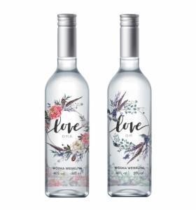 Wódka weselna 500 ml 40% BOHO