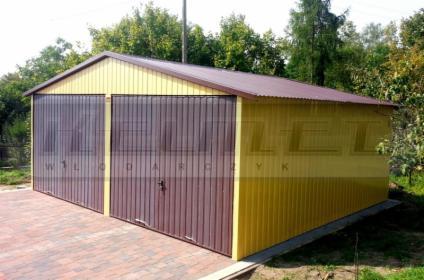 Garaż blaszany 6m x 5m