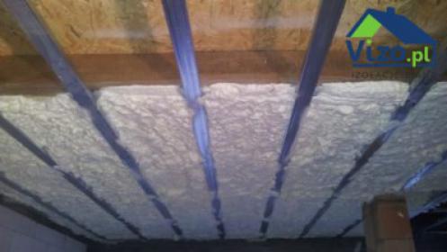 Izolacje stropów i sufitów pianą