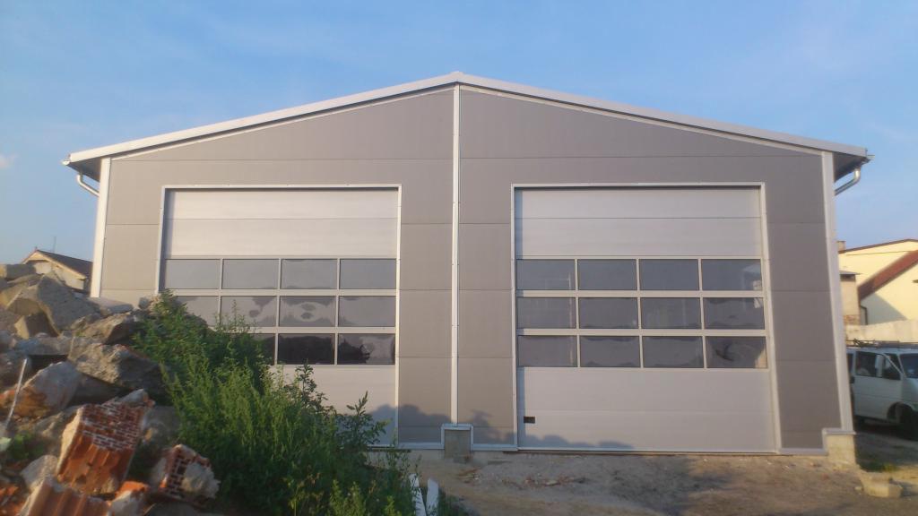 Konstrukcje Stalowe Magazyn Hale Przemysłowe Garaż Z Płyty
