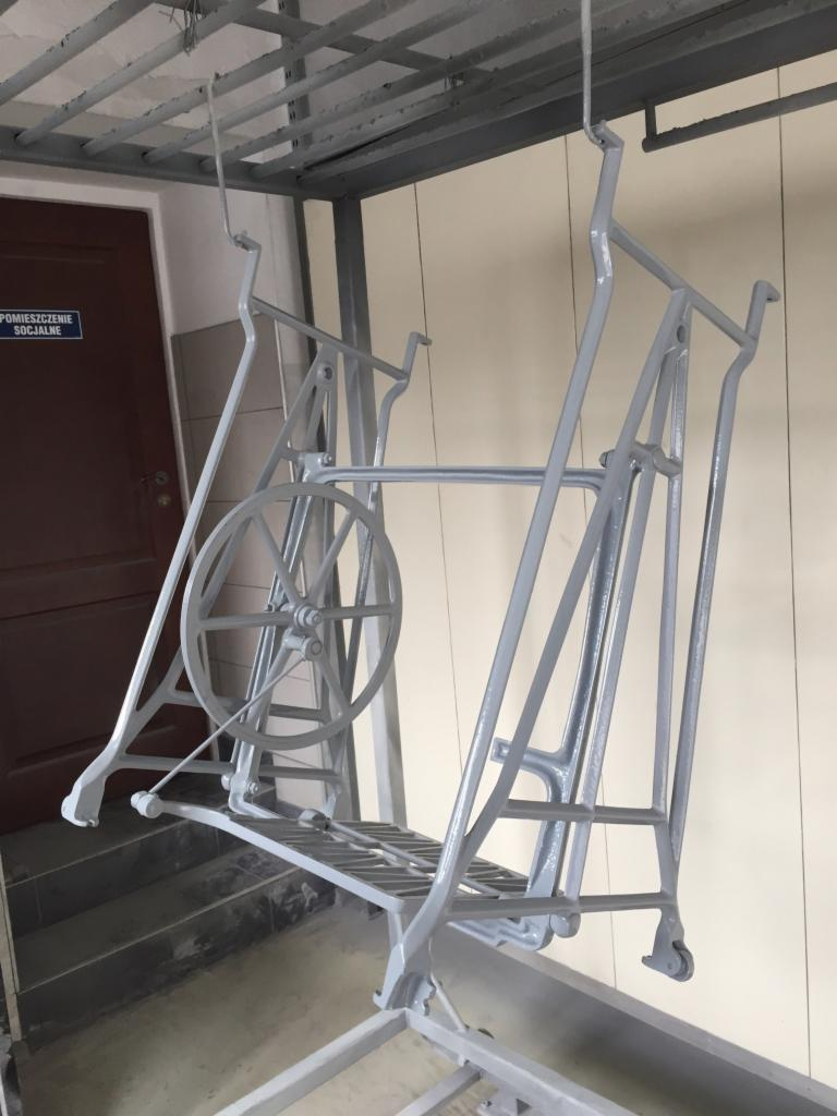 Aktualne Malowanie proszkowe elementów metalowych i konstrukcji stalowych UV91