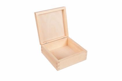 Pudełko drewniane kwadratowe 15x15cm