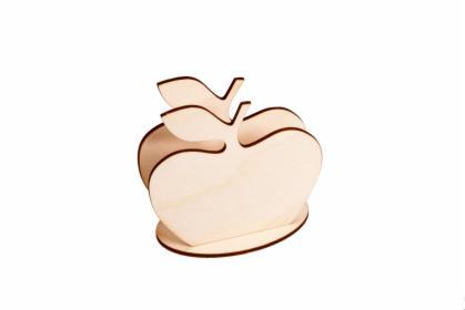 Serwetnik ze sklejki - Jabłko