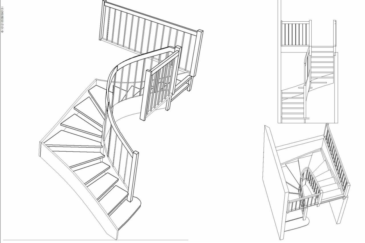 Poważnie Projektowanie schodów - Oferta nr123838 - Oferteo.pl LD69