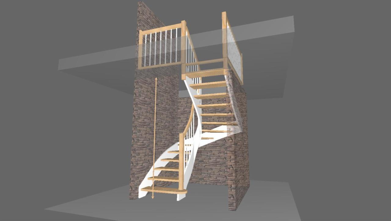 Ogromnie Projektowanie schodów - Oferta nr 123838 - Oferteo.pl LA89
