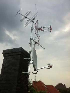 Anteny SAT I DVB-t montaż, serwis, naprawa (Ustawienie sygnału, kompleksowe instalacje)