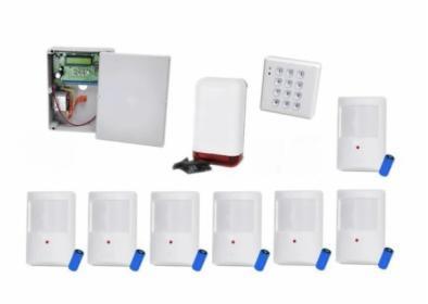 Bezprzewodowy system alarmowy ELMES CBP32S - 7 czujek, powiadomienie, sterowanie GSM