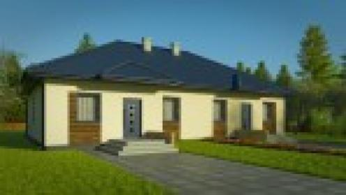 Dom z Kermazytu MP2 Dwurodzinny