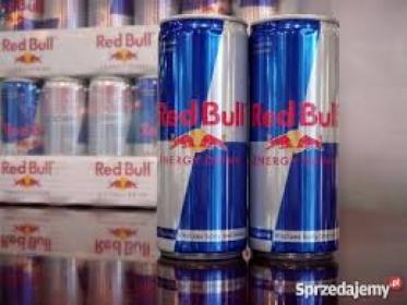 Austriacki RedBull Energy Drinki