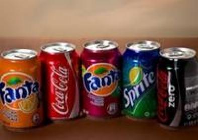 Coca-cola, Fanta, Sprite, 7UP, Pepsi
