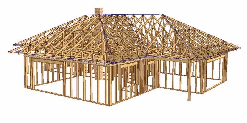 Rewelacyjny więźba dachowa, projekty wiązarów dachowych - Oferta nr 124215 EV88