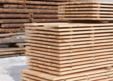 Drewno konstrukcyjne, więźba dachowa, drewno klejone