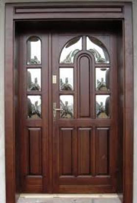Drzwi drewniane wewnętrzne, zewnętrzne
