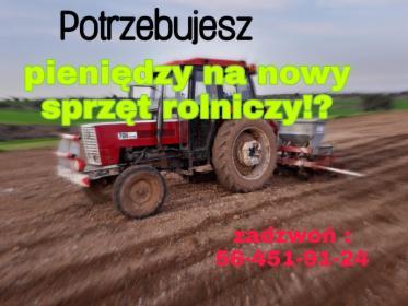 Agropożyczka dla rolnika