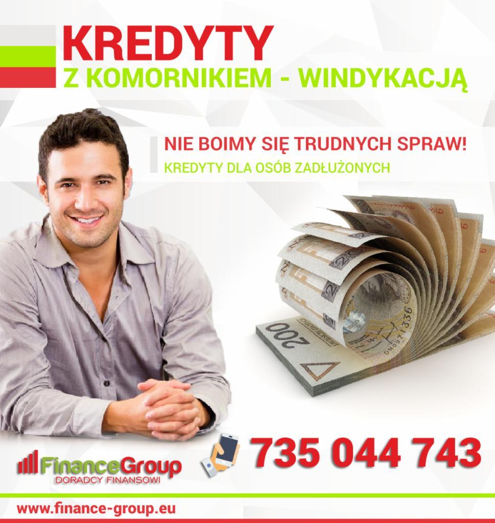 Najnowsze Trudne Kredyty - komornik/negatywne bazy/windykacja - Oferta nr PP95
