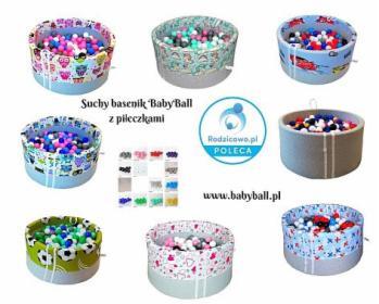 Piankowy basenik BabyBall z piłeczkami 200 szt., oferta