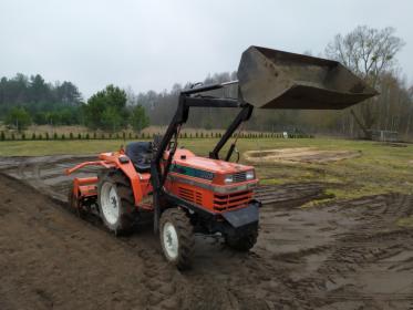 Usługi Mini-traktorkiem - Glebogryzarka, Równiarka, Kosiarka, Ruciane-Nida, oferta