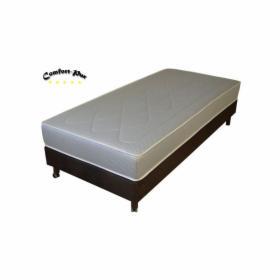 Łóżko hotelowe 90 x 200 cm z materacem kieszeniowym