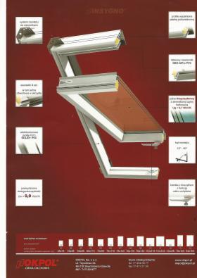 Okno o podwyższonej odporności na wilgoć PVC