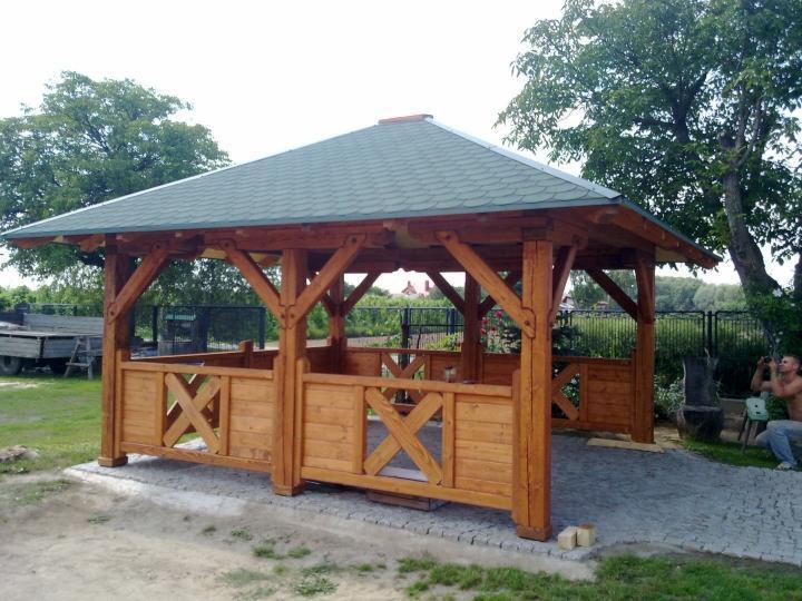 Budowa Altany Drewnianej 5x4 M Nowa Słupia Oferta