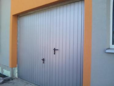 Brama garażowa dwuskrzydłowa na wymiar