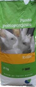 Pasza dla królików skład