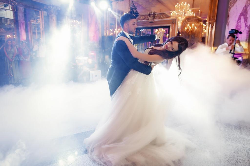 Wytwornica Dymu Ciężkiego Taniec W Chmurach Pierwszy Taniec Na